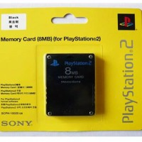 Memory Card MC PS2 8MB Hitam