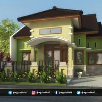 Gambar Desain Rumah GRATIS Tanpa RAB Dan Print Out