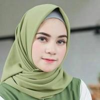 Jilbab segi empat Nissa sabyan square diamond kerudung hijab polos