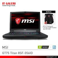 Laptop Gaming MSI GT75 Titan 8SF-056ID Black Murah