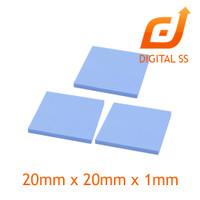 Peltier Thermal Pad Heatsink Cooling Conductive Silicone 2cmx2cmx0.1