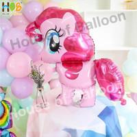 Balon Karakter Foil My Little Ponny Pony 3D / Kuda Pinkie Pie