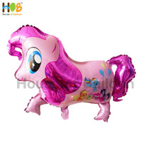 Balon Karakter Foil My Little Ponny Pony 2D / Kuda Pinkie Pie