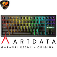Cougar Gaming Mechanical Keyboard PURI TKL RGB Red / Blue Switch