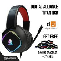Digital Alliance Titan RGB Led Gaming Headset DA