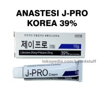 KRIM ANASTESI J-PRO CREAM ANASTESI J-PRO KOREA 39% ORIGINAL
