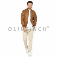 Bomber Suede Charmy Jacket