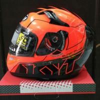Helm - Helem - Full Face KYT K2 Super Fluo - Series