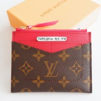 CARD WALLET HOLDER DOMPET KARTU KULIT ASLI LOUIS LV VUITTON
