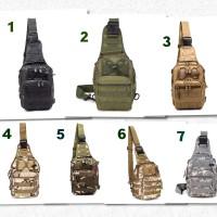 Tas Import / Tas Selempang Tactical / Tas Selempang Army