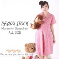 Maternity Sleepdress baju tidur ibu hamil menyusui