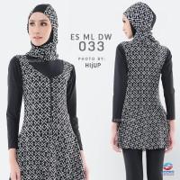 Baju Renang Muslimah Dewasa Wanita Edora ES ML DW
