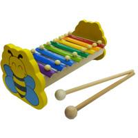 Mainan Kayu Edukasi / Mainan Anak - Kulintang Besi Lebah
