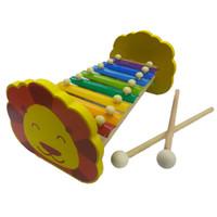 Mainan Kayu Edukasi / Mainan Anak - Kulintang Besi Singa