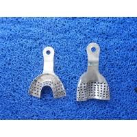 Sendok Cetak Gigi Bahan Stainless Steel Isi 2 Upper dan Lower