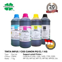 Veneta System CISS Budjet Canon 1 kg. Tinta Printer