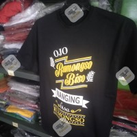 Kaos/Baju/tshirt OJO RUMONGSO JAWA NELA KHARISMA