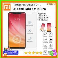Tempered Glass Xiaomi Mi 8 (Mi8) / Mi 8 Pro (6.21 inchi)