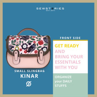 SLINGBAG : KINAR LEATHER PAINTING AND CARVING (PREORDER)