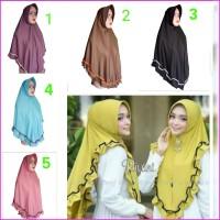10 pcs Grosir hijab jersey instan adem syar'i jilbab murah khimar