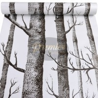 Wallpaper Tree Black & White |45cm x 10m