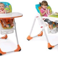 ORIGINAL HIGH CHAIR CHICCO POLLY 2IN1 2 IN 1 KURSI MAKAN BAYI