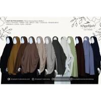 Helpy Button khimar 3 Kancing Khadijah Indonesia Jilbab Syar i All Siz