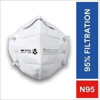 3m Masker N95 9010 Particulate Respirator Pelindung Asap HARGA 1 Pcs