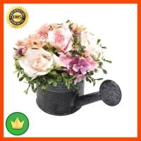 Bunga Artifisial Dengan Pot P1 18 Cm - Peach