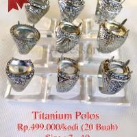 BARU Emban/ ring/ ikatan cincin Titanium harga Grosir