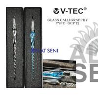 V-Tec Glass Calligraphy Type GCP 72 - Glass pen calligraphy Dip Pen