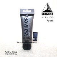 Maimeri Acrilico - Carbon Black 75 ml