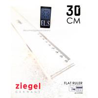 Ziegel Flat Ruler 30 cm (Penggaris)