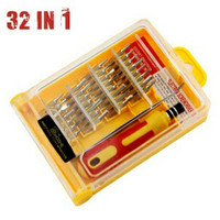 OBENG SET 32 in1 PINSET LENGKAP SCREW DRIVER MULTIFUNGSI SERBAGUNA KIT