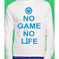 Kaos Anime No Game No Life lengan panjang