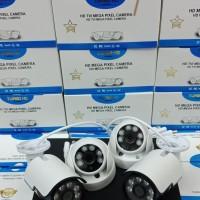 Paket CCTV 4CH 5MP FULL HD 1080P Hardisk 1000GB KOMPLIT