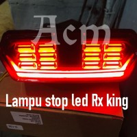 New lampu stop led running Rx king / stoplamp led rx king