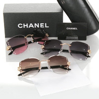 Women Sunglasses CHANEL FSG-17155@