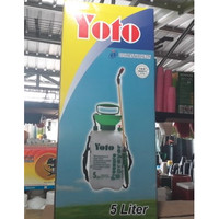 pressure sprayer YOTO 5 liter semprotan(penyemprot tanaman bertekanan)