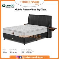 Guhdo Standard Plushtop 160x200 Komplit Set Sandaran Tiara