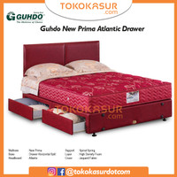 Guhdo New Prima Atlantic Drawer 160x200 Komplit Set