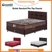 Guhdo Standard Plushtop 200x200 Komplit Set Sandaran Caserta