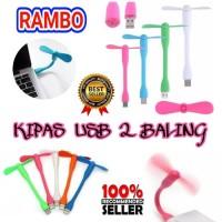 KIPAS USB XIAOMI 2 BALING HD22 KIPAS BAMBU FLEXIBLE POWERBANK
