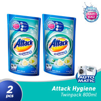 ATTACK Liquid Clean Maximizer 800ML - 2 pcs