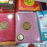 Al-Quran Terjemah Rabita Edisi Bunga dan tajwid warna uk B6 resleting