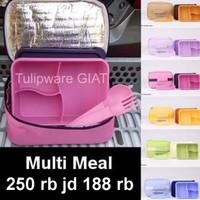 Single Lunch Box Twin Tulipware