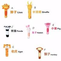 mainan bayi rattle stick animal baby toys SKK baby