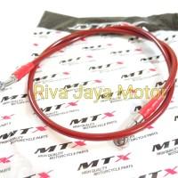 Selang Rem 105cm Merah Mtx Universal
