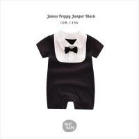 Hey Baby James Preppy Jumper (Black)