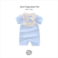 Hey Baby James Preppy Jumper (Blue)